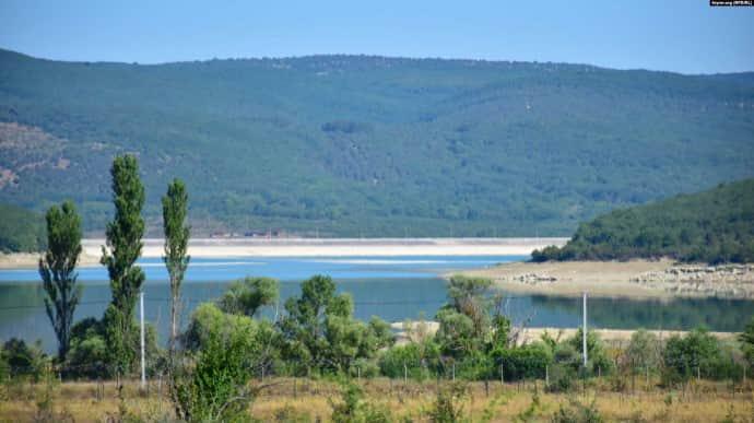 У Криму пересихає водосховище