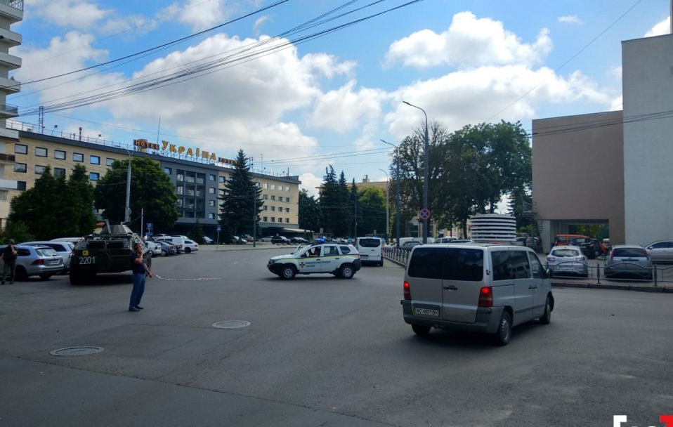 СБУ кваліфікує події в Луцьку як терористичний акт