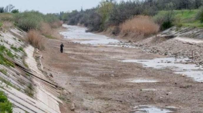 Два водосховища в Криму – на межі висихання