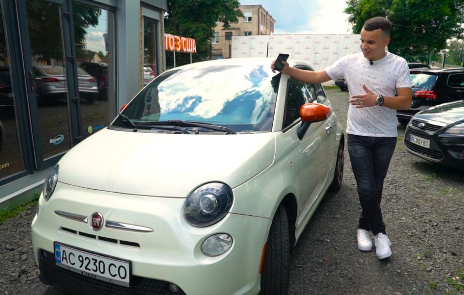 Любе авто | Тест-драйв Fiat 500e. ВІДЕО*