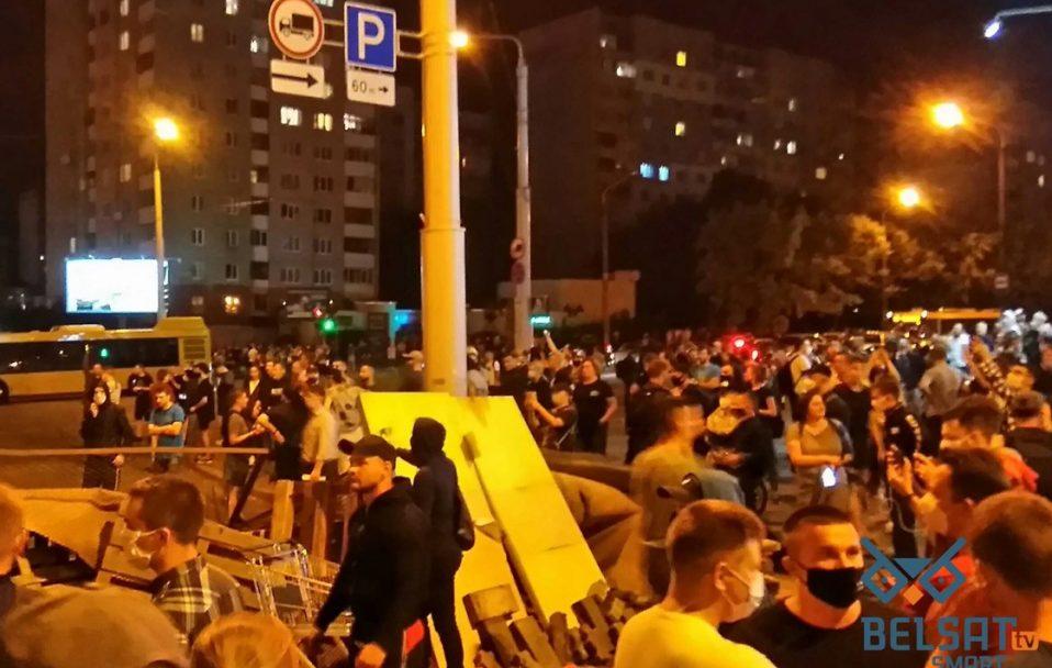 Протести у Білорусі: затримали дев'ятьох українців і побили фотокореспондента