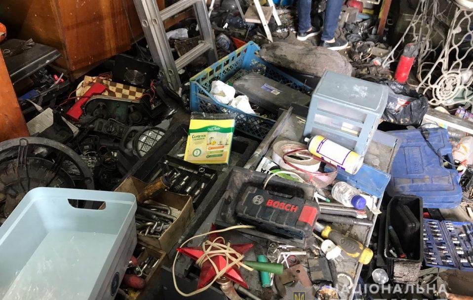 У Луцьку та в Луцькому районі знайшли склади із краденим майном. ФОТО. ВІДЕО