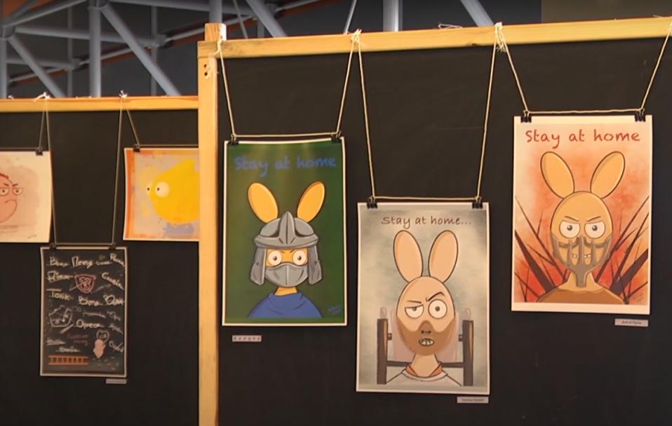 """""""Рибко-Порт, Сіті зайчиків"""": У ТРЦ ПортCity – нова виставка. ВІДЕО*"""