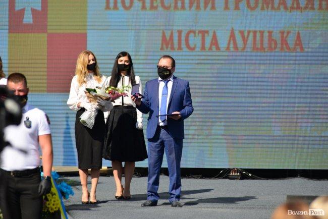 Лучан нагородили почесними званнями. ФОТО