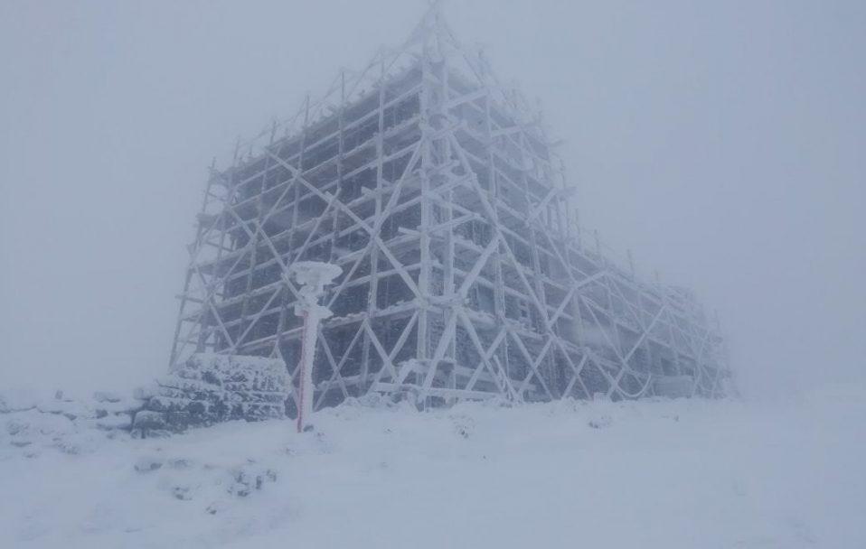 Карпати засипало снігом. ФОТО