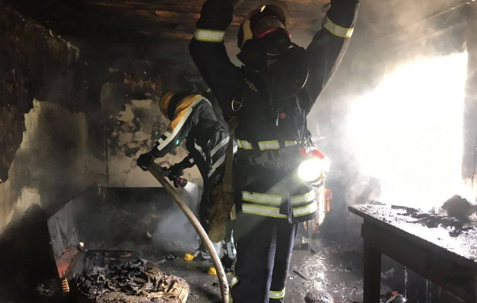 Пожежа у Луцькому районі: загинув 40-річний чоловік. ВІДЕО