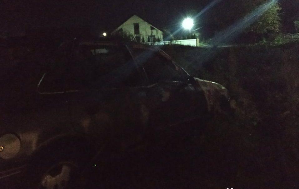 У Рожищі згорів автомобіль. ФОТО