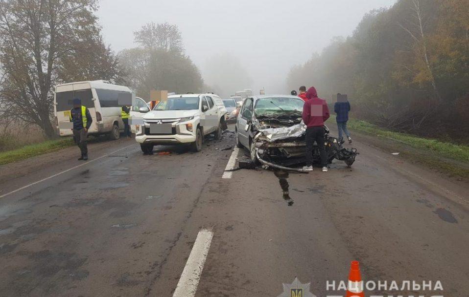 На Волині зіткнулися два автомобілі: постраждала 23-річна жінка