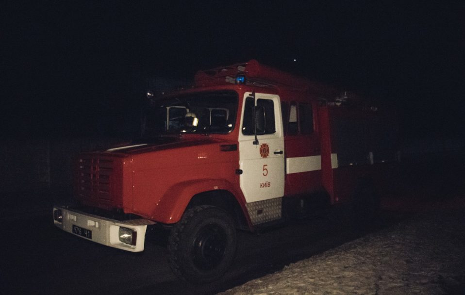 На Горохівщині посеред ночі горів будинок