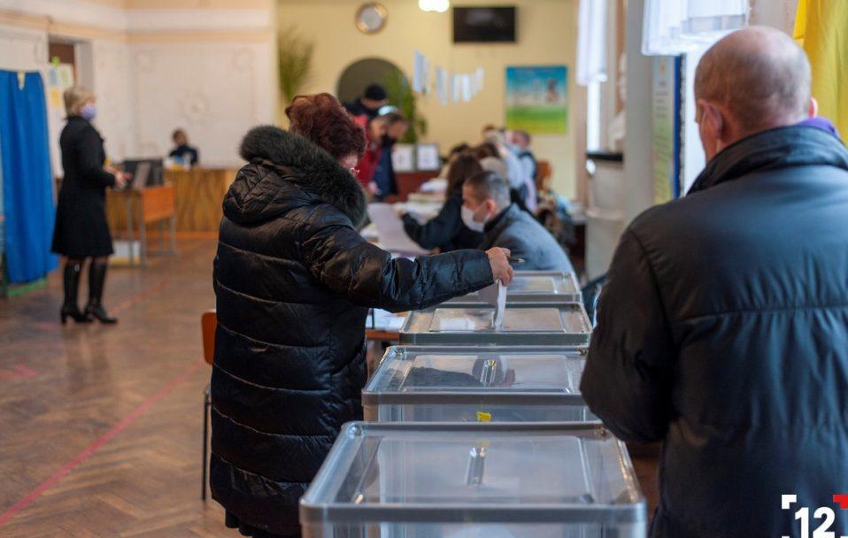 Скільки волинян прийшли на вибори