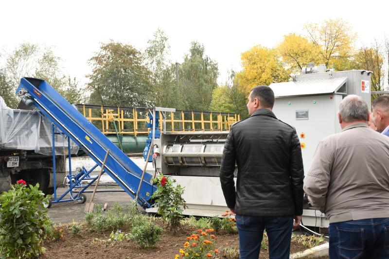Скоротить об'єм відходів: у Луцьку – нове обладнання для очисних споруд. ФОТО