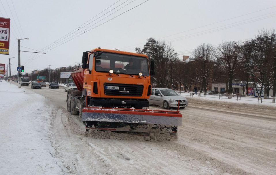 У Луцьку на прибирання снігу витратять 1 500 000 гривень