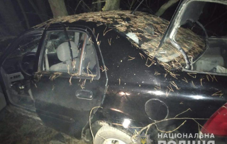 На Волині автівка врізалася у дерево: пасажир травмувався, водій – загинув. ФОТО