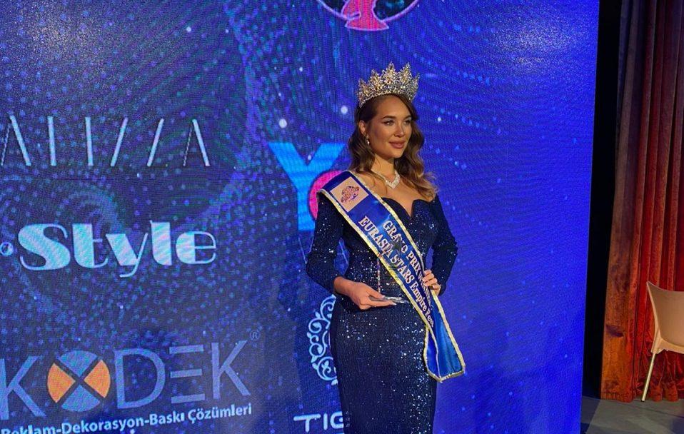 Лучанка стала переможницею міжнародного конкурсу краси. ФОТО