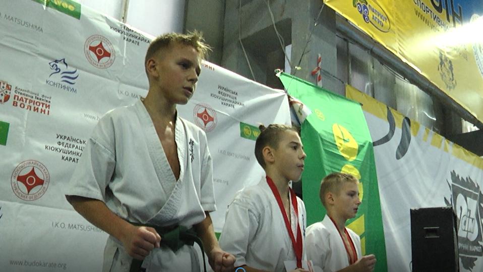 Як у Луцьку минув чемпіонат України з кіокушинкайкан карате. ВІДЕО