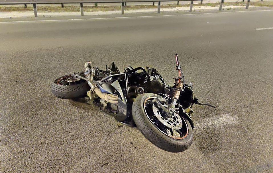 На Волині мотоцикліст збив пішохода: обоє – в лікарні