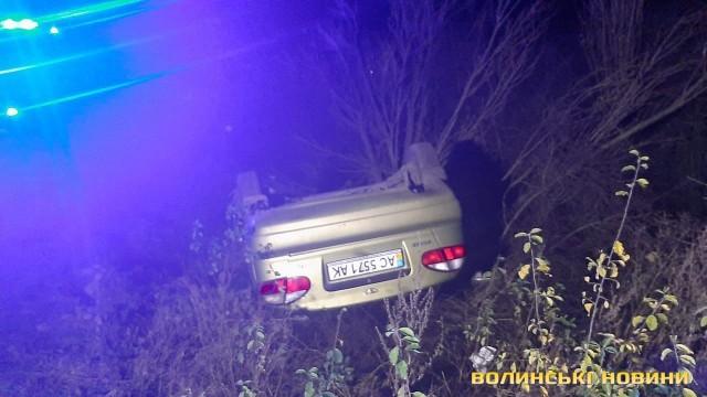 У смертельній аварії на Волині загинув водій легковика. ФОТО