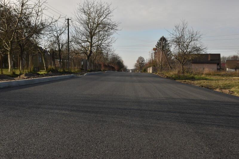 У селі під Луцьком ремонтують дорогу за 4,6 мільйона гривень. ФОТО
