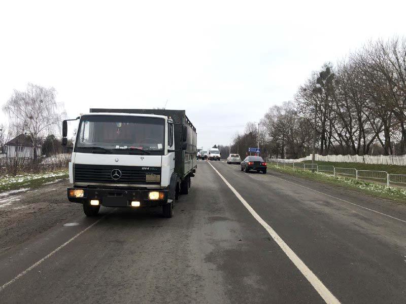 Волинянин за кермом вантажівки на смерть збив дитину. ФОТО