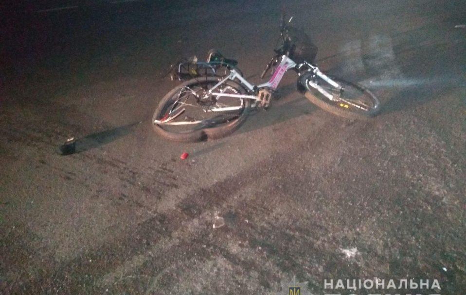 Біля Луцька п'яний водій збив велосипедистку і хотів втекти. ФОТО