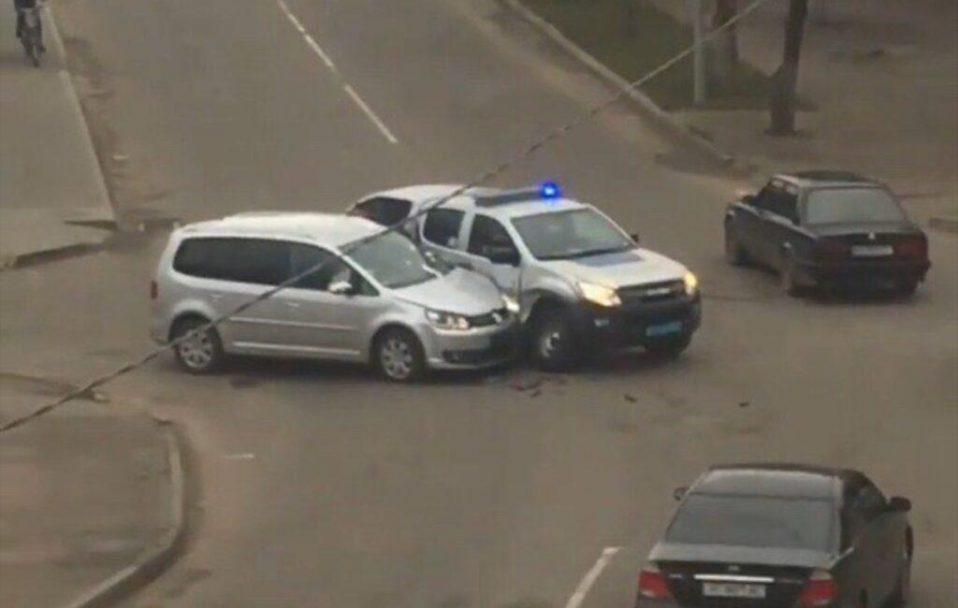 На Волині авто поліції потрапило в ДТП. ВІДЕО