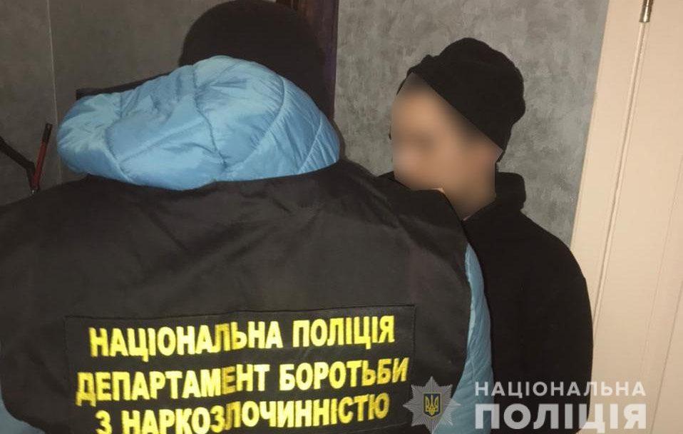 На Волині зловили наркокур'єра й вилучили психотропів на 350 тисяч гривень. ФОТО