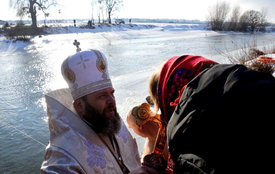 Водохреще-2021: де і коли у Луцьку будуть освячувати воду