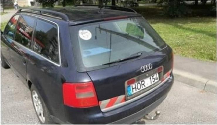 У Луцьку викрали автомобіль. ФОТО