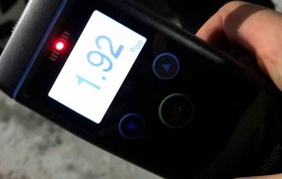 У Луцьку зловили п'яного водія, який вчинив ДТП
