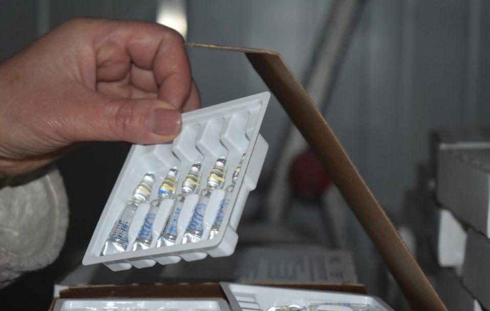 Волинь отримала першу партію вакцини проти COVID-19