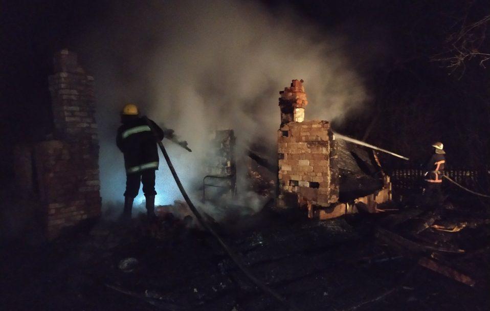 Трагедія на Горохівщині: у пожежі загинув власник будинку