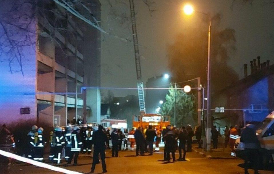 У Запоріжжі сталася пожежа у COVID-лікарні: 4 людини загинули