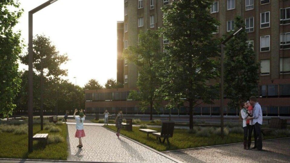 У Луцьку облаштують новий сквер