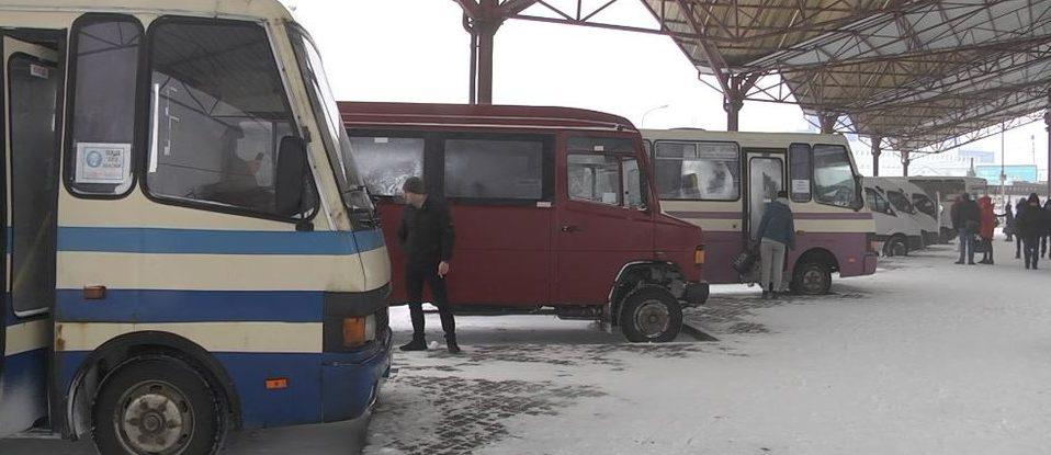 На луцькій автостанції скасували більше половини рейсів