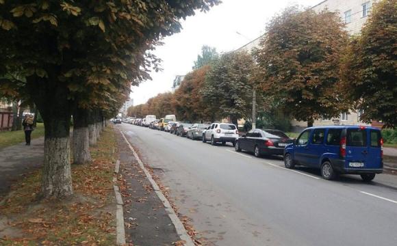 На Ківерцівській у Луцьку пропонують зробити чотири смуги руху