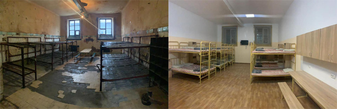 Показали камеру Лук'янівського СІЗО, відремонтовану за 100 000 гривень. ФОТО
