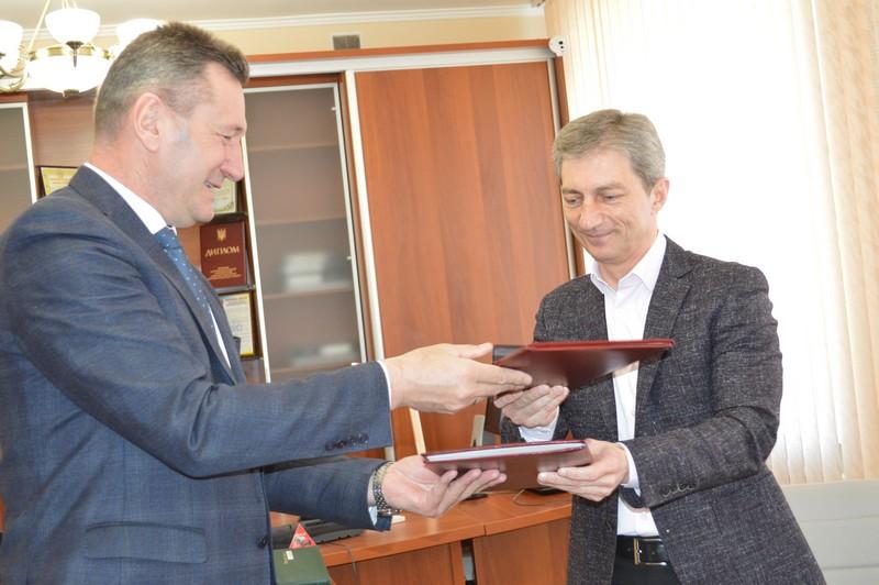 Ігор Чайка підписав меморандум про співпрацю з ВНУ імені Лесі Українки