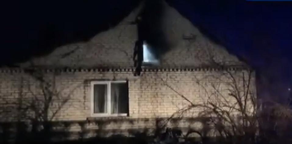У селі біля Луцька горів житловий будинок