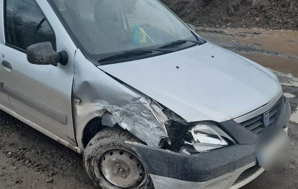 У Луцьку п'яний таксист хотів втекти з місця ДТП. ФОТО