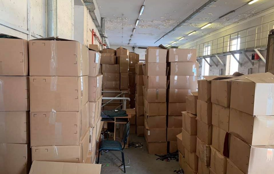"""На """"Ягодині"""" знайшли контрабанди на 20 000 000 гривень. ФОТО"""