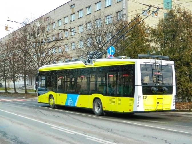 У Луцьку пропонують створити новий тролейбусний маршрут