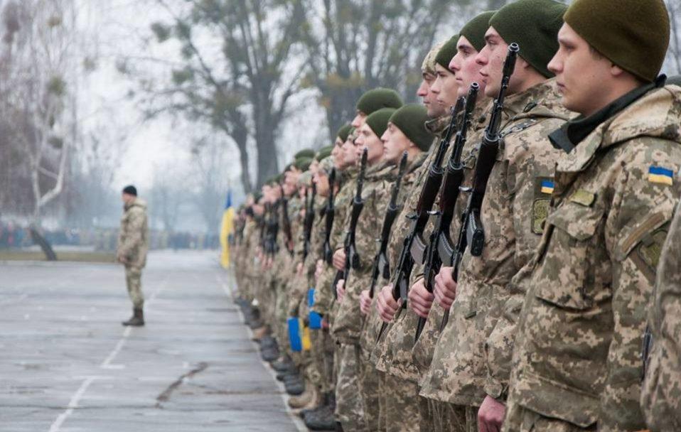 Майже пів тисячі волинських юнаків поповнять лави українського війська. ВІДЕО