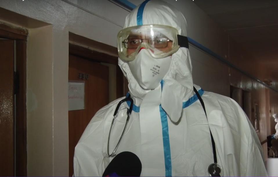 Коронавірус набирає обертів. Ми побували в коронавірусному шпиталі в Боголюбах. ВІДЕО
