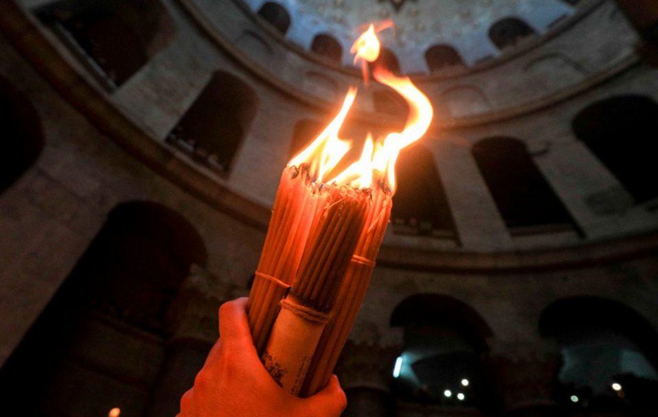 У Єрусалимі зійшов Благодатний вогонь. ВІДЕО