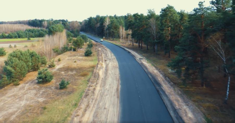 До Шацьких озер – новенькою дорогою: показали відремонтовану волинську трасу. ВІДЕО