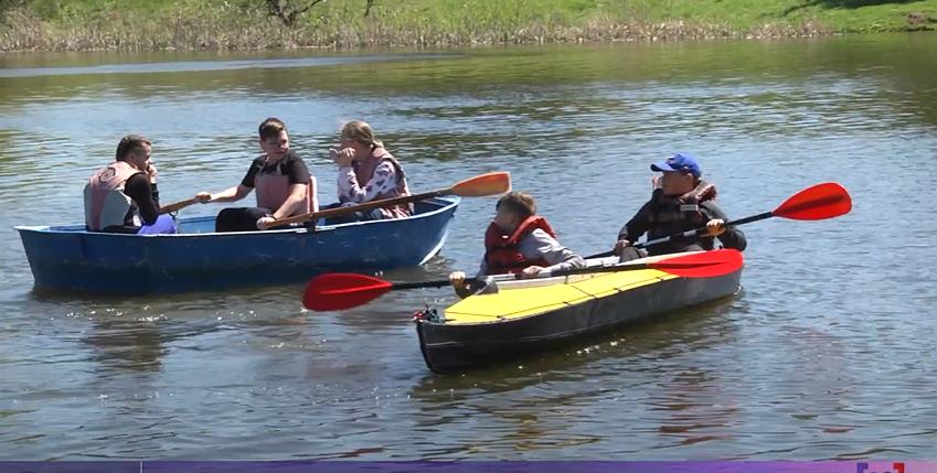 Як юних волинян залучають до водного туризму. ВІДЕО