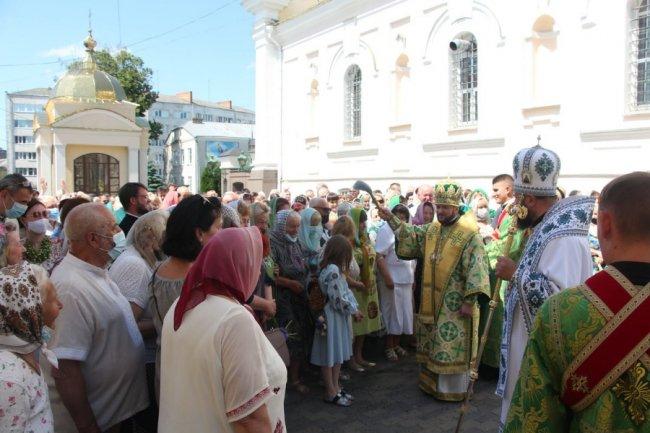 Як луцький собор відзначив престольне свято. ФОТО