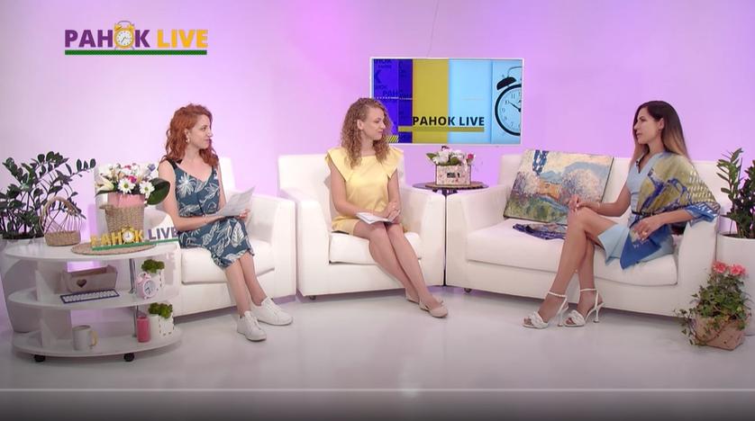 Луцька дизайнерка презентує колекцію шовкових хустинок   Ранок LIVE