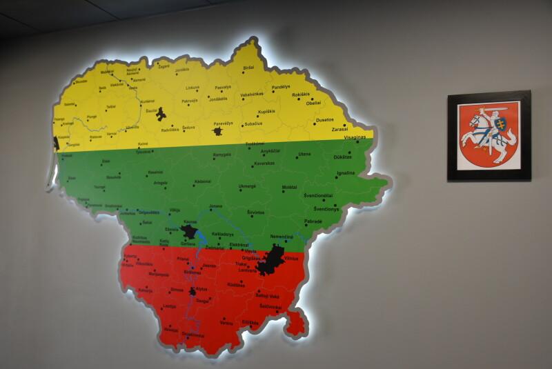 У Луцьку відкрито Почесне консульство Литовської Республіки