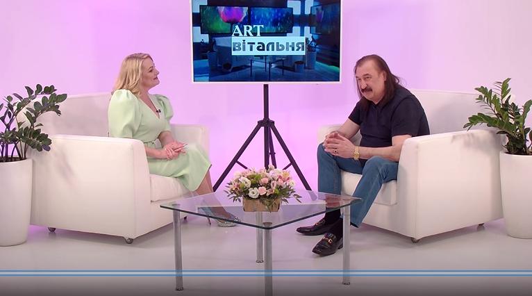 Степан Гіга про зйомки, музичну сім'ю та друзів | ART-вітальня